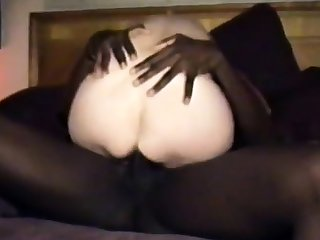 cuckold's wife gets a dark coal-black cock full of juice.