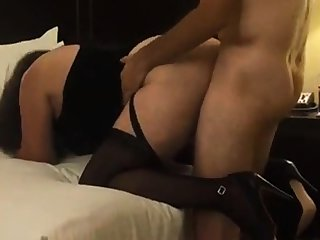 Pounding my older bitch hard