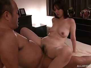 Hotel room twosome on twosome action up always horny Shouda Chisato