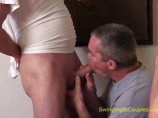 MORE ambidextrous fuck-fest sequences from Accommodation billet