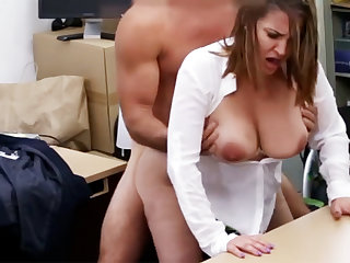 Married business lady received fuck for money